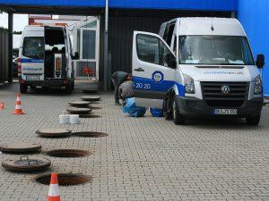 Vorbereitung zur Sanierung des Schachtaufbaus (2)