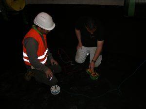 Durchführung der Messung und Überprüfung der Leitfähigkeit der WHG Fläche (2)