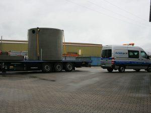 Anlieferung Ölabscheider